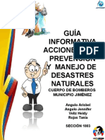 Guia Informativa Bomberos Jimenez
