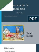 historia de la medicina edad media