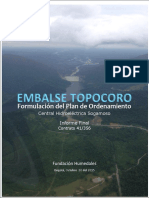 Plan Ordenamiento Embalse Topocoro Central Hidroelectrica Sogamoso