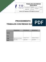07-Procedimiento de Trabajo Con Riesgo Electrico