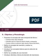 Evaluación y Seleccion de Inversiones (Con Matematica Financiera) - Presentacion