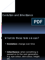 Evolution and Inheritance Pp
