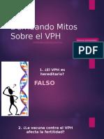 Derribando Mitos Sobre El VPH