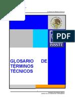 GLOSARIO DE TERMINOS TECNICOS