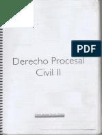 Material de Derecho Procesal Civil II