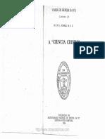 Pe. Dr. L. Rumble, M. S. C. - A Ciência Cristã (Vozes Em Defesa Da Fé Caderno 25)