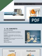 Tecnología Del Concreto (presentación)