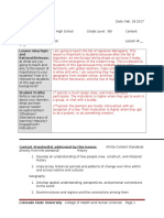 cep lesson plan template doc napoleon