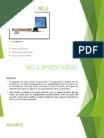 Caso Práctico - NIC 2 - Presentación