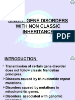 Single Gene Disorders