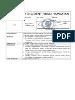 MENGIDENTIFIKASI HAMBATAN