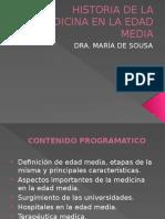 Historia de La Medicina. Edad Media
