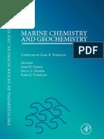 Marine Chemistry and Geochemistry (Karl K. Turekian)