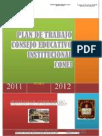 Plan de Trabajo Conei 2011 2012