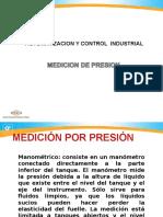 Automatización Medición Por Presión