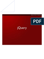jQuery Best Practices