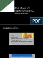 Urgencias en Consultorio Dental