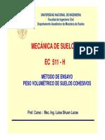 Lab 1_Peso Volumétrico