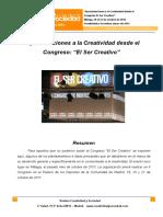 8-Congreso El Ser Creativo