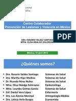 06- CC para la Investigación de Lesiones y Violencia