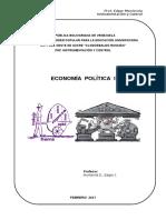 Economía Política I - Contenido y Plan de Evaluación - Cohorte III