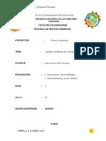 Cambios en la Amazonia peruana