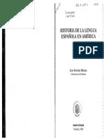 Juan Sanchez Mendez.el Espanol de America