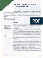 Caso Clinico Veterinaria Neoplasias