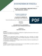 LEY DE EJERCICIO DE LA INGENIERIA ARQUITECTURA Y PROFESIONES AFINES.pdf