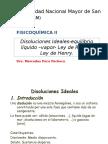 Clase 3- Disoluciones Ideales-equilibrio Líquido-Vapor-Ley de Raoult-ley de Henry
