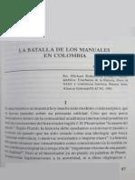 La Batalla de Los Manuales en Colombia - Colmenares Germán