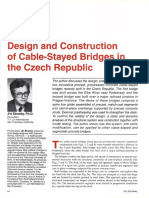 Design and Construction of Cable Stayed Bridges in the Czech Republic