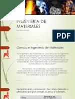 Ingeniería Materiales Clases