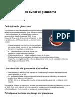 5 Consejos Para Evitar El Glaucoma 178 Msi4fh