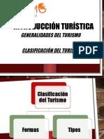 3. Clasificación Del Turismo