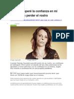 BBC MUNDO - Cómo Recuperé La Confianza en Mí Misma Tras Perder El Rostro - 07 01 16