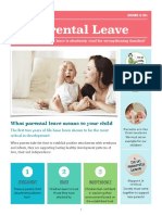 parental leave advocacy brochure