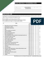 Inventario de Problemas Conductuales y Socioemocionales