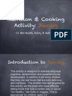 nutrition cooking activity