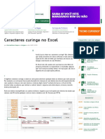 Caracteres Curinga No Excel