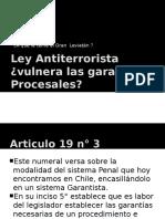 Seminario Ley Antiterrorista Garantias Procesales