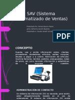 SAV (Sistema Automatizado de Ventas)