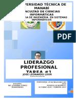 FORMAS DE LIDERAZGO