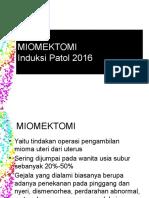 20a. Operasi Miomektomi 2016