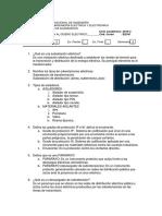 3era Práctica Calificada - Introducción al diseño eléctrico 2016-2 FIEE-UNI