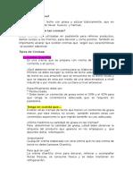 Resumen de Pasteleria