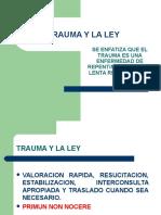 Trauma y La Ley