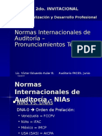 Normas Int de Auditoria 2