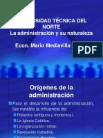1.1. La Administración y Su Naturaleza