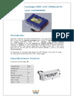 Batería de Tecnología NiMH  6.0V/2300mAh/5S